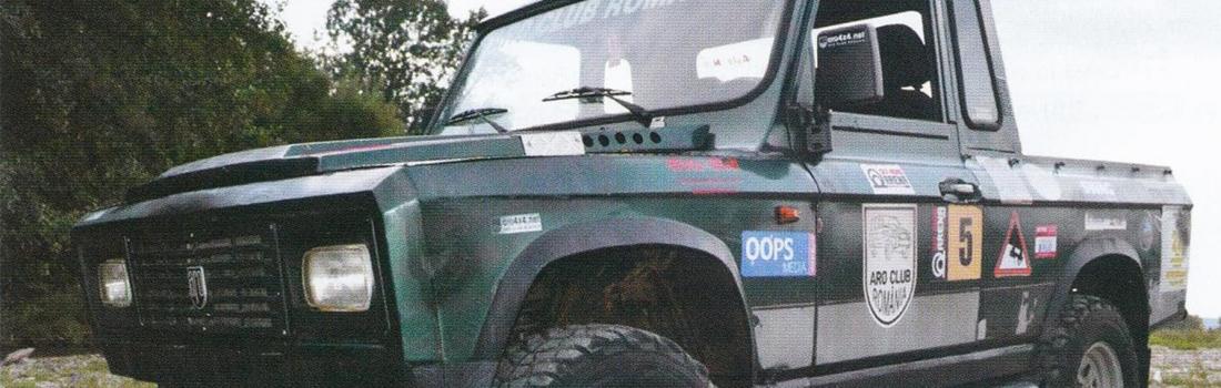 ARO 242: Zimbrul competițiilor auto